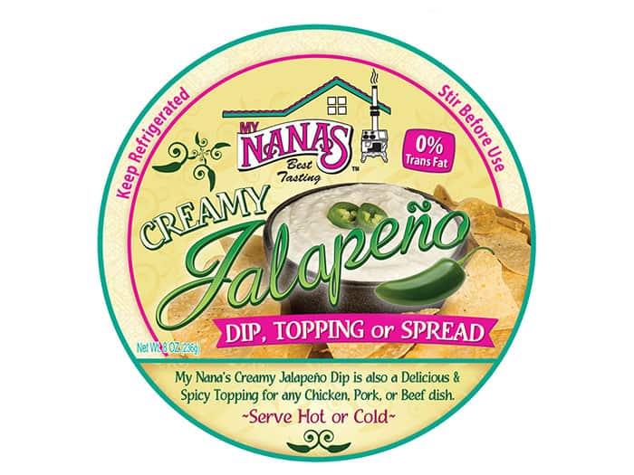 My Nanas Jalapeno Cream Lid