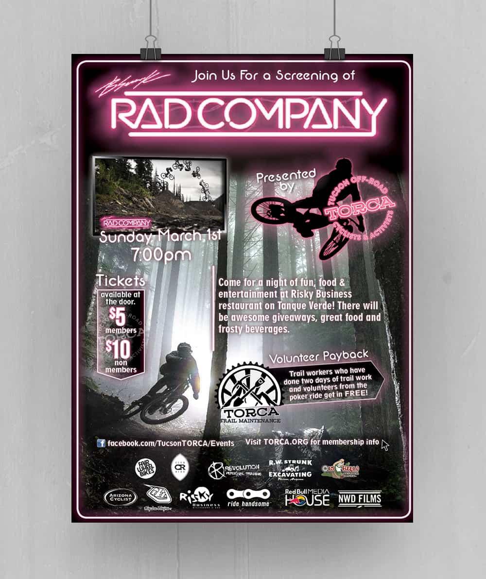 RadCo Premiere Poster