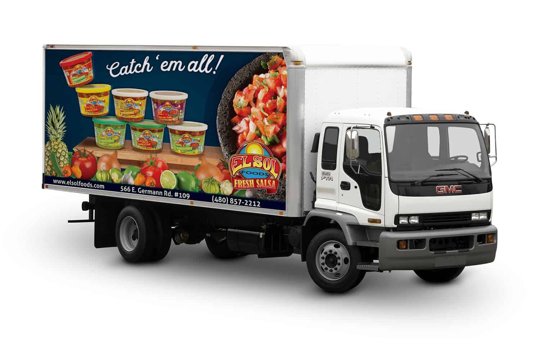 El Sol Truck Wrap