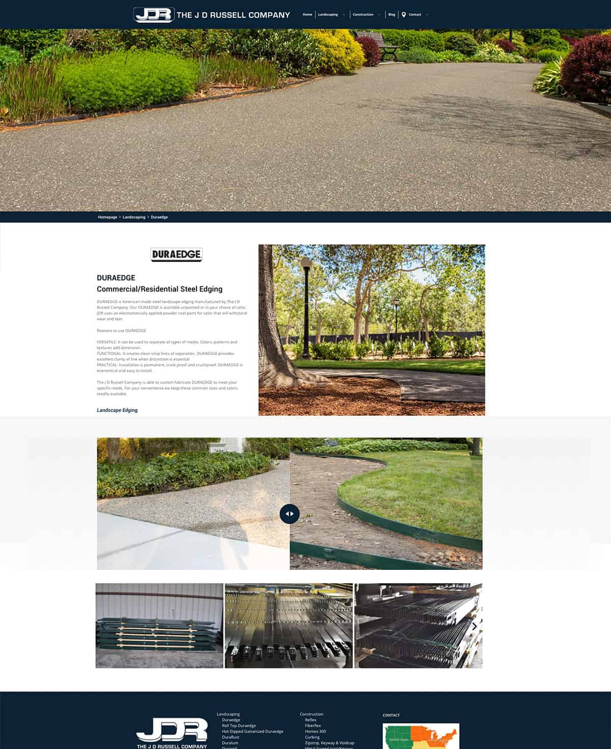 J.D. Russell Company Product Page