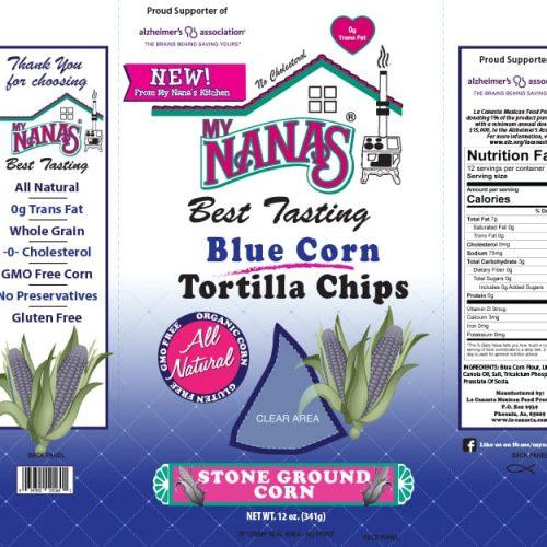 My Nana's chip bag